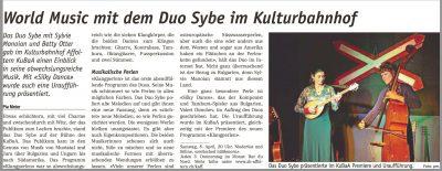 Konzert mit Weltmusik, Balkan-Musik, Zigeuner-Musik, Eigenkompositionen, Auftragskompositionen