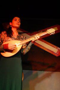 Tambura, Instrument aus Bulgarien